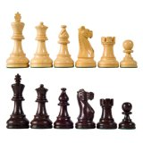 American Staunton Wood Chess Pieces with 4