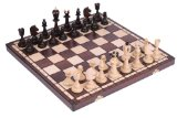 The Sultan - Unique Wood Chess Set with Chess Board & Storage, King 4 inches