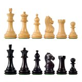 Majestic Staunton Wood Chess Pieces with 4