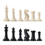 Executive Staunton Tournament Chess Pieces with 3 7/8