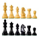 Classic Wood Chess Pieces with 3 3/4