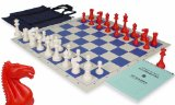 ClubTourney Chess Kit in Red, White, & Blue