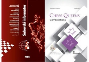 """Chess Informant 118 comes with a present - the book """"Chess Queens - Combinations"""""""