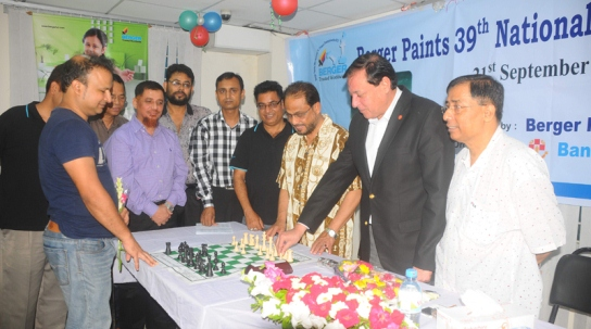 Inauguration Ceremony of the Berger Paints 39th National Chess Championship-2013