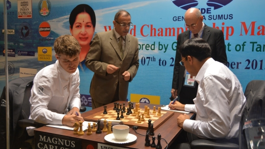 Anand - Carlsen game 2 id