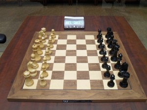 Proposed chess set was used at London Candidates Tournament