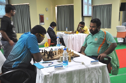 Lalith Babu defeated IM K Rathnakaran in the second round
