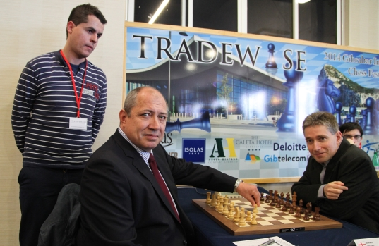 Gibraltar Masters first move